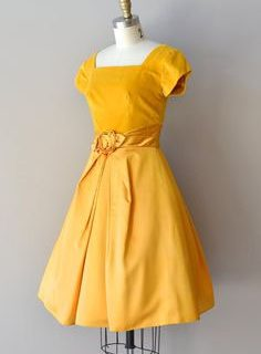 Yellow Floral Frock ~ Giveaway!