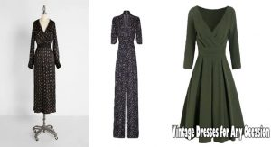 Vintage Dresses for Any Occasion